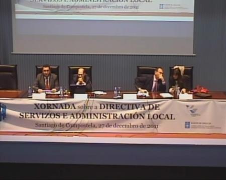 Santiago Parras Vázquez. Secretario xeral da Asociación de Empresas de Control de Calidade e Control Técnico Independentes (AECCTI)  - Xornada sobre a Directiva de Servizos e a Administración Local